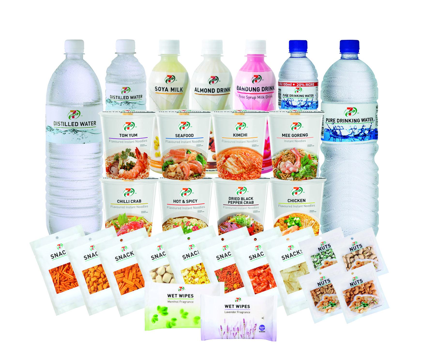 7-Eleven - Housebrand packaging design